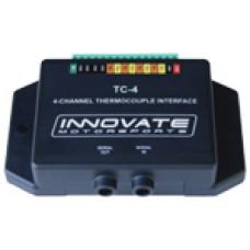 TC-4: 4 kanavainen termoparivahvistin