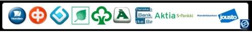Valitse kassalla Checkout: Maksat verkkopankissa tai luotolla.