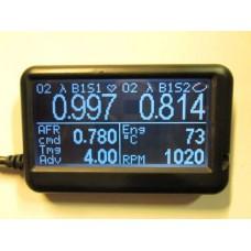 Monitoiminäyttö OBD2 CAN-väylään mm. ViPEC, Link ja Ecumaster ECU:issa