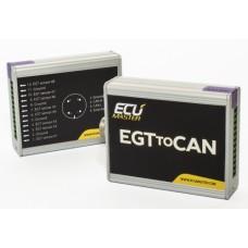 Ecumaster EGT to CAN, 8-kanavainen moduli CAN-väylään