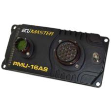 Ecumaster PMU-16 Autosport - virranhallintalaite tiedonkeruulla