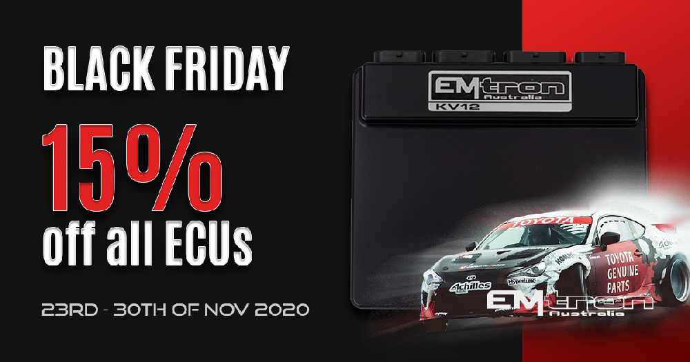 EMTRON Black Friday